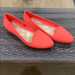 Women Croc Flats